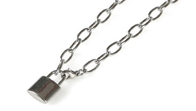 BICYCLE LOCK NECKLACE 01